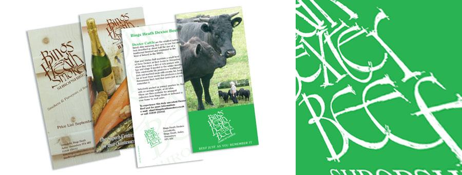 Bings Heath leaflets
